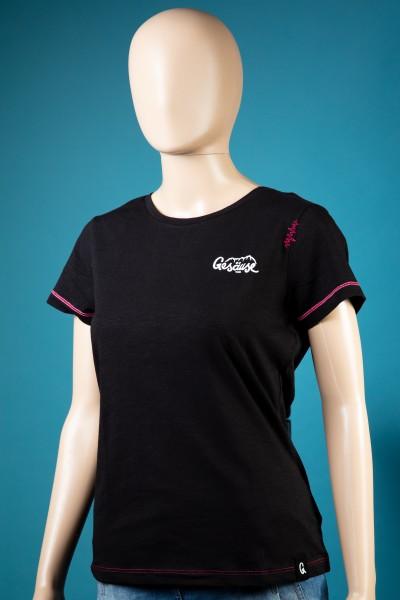 Damen T-Shirt Kraushöhle